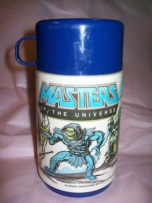 Masters of the Universe Thermos 1983 He-Man, Skeletor and Teela