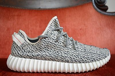 30d68d55bbb CLEAN Adidas Yeezy 350 Boost V1 Turtle Dove Size 14 AQ4832 Kanye West Black  Grey