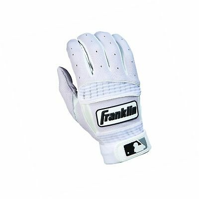 Franklin Sports Neo Classic Series Batting Gloves Pearl/White Medium