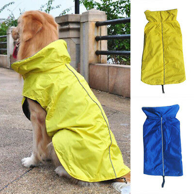 Winter Warm Padded Dog Clothes Waterproof Pet Coats Vest Jacket For Dogs 7 Size