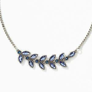 Touchstone Crystal by Swarovski Forget Me Not Necklace BNIB