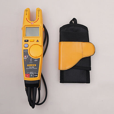 Fluke T6-600 Clamp Current Tester Non-contact Voltage Clamp Meter + Holster
