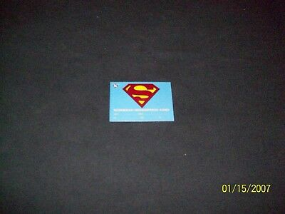 Rare 1993 Dc Bloodlines Exchange Card Superman Redemption Card Unused