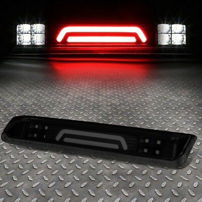 For 2004-2008 Ford F150 Black Smoked Third 3Rd Brake Light Cargo Lamp 3D Led Bar