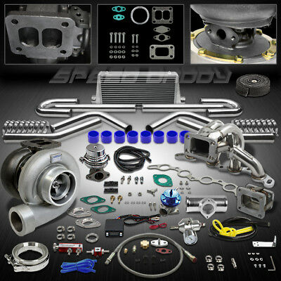 Gt45 14P Turbo Kit Turbocharger+Manifold+Intercooler 85-89 Mr2/-91 Corolla 4A-Ge