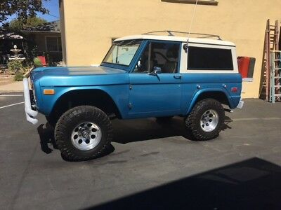 1974 Ford Bronco Sport Truck