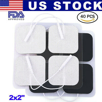 Electrode Pads For Belmint Tens Unit Massager Therapy Pulse Muscle Pain Relief