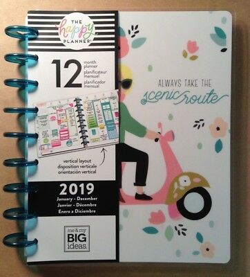 "NEW Happy Planner ""GIRL GANG"" CLASSIC 2019 12-Month Planner VERTICAL LAYOUT"