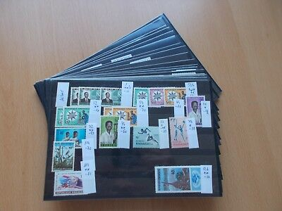 Rwanda - Mint & used collection on stockcards. See pics below.