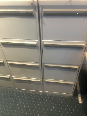 4 Drawer Filing Cabinets (Namco) x 2 with dividers