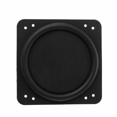 Radiator Radiator Passive Speaker Rubber Auxiliary Bass For Subwoofer 76×76mm
