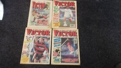 4x Victor Comics Nos 1581, 1602, 1598 & 1565 from 1991 Good Condition to collect
