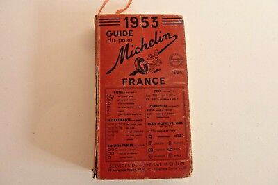 Guide Michelin 1953