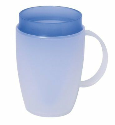 2 x Onamin Translucent Mug with internal cone aid Disability Elderly Parkinson