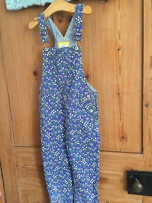Boden girls Dungarees Aged 7 8 Years