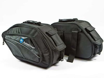 Autokicker Conqueror Series Saddle Bag Kit For Motorbikes & Motorcycles