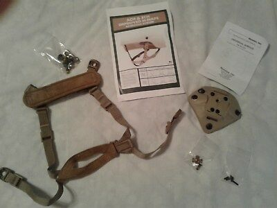 New Set Of Norotos 3 Hole Mount W/new Ach/ech Improved H Nape Chin Strap Tan S/x