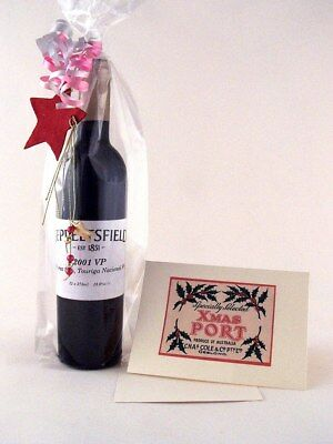 2001 SEPPELTS Vintage Port 375ml XMAS GIFT PACK - FREE DELIVERY ISLE OF WINE