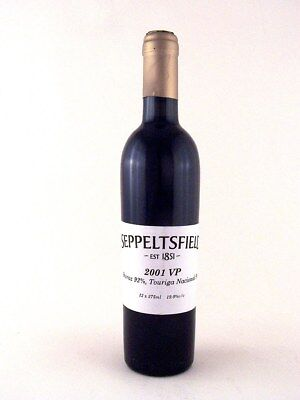 2001 SEPPELTS Vintage Port 375ml  - (Brilliant 18th Gift) ISLE OF WINE