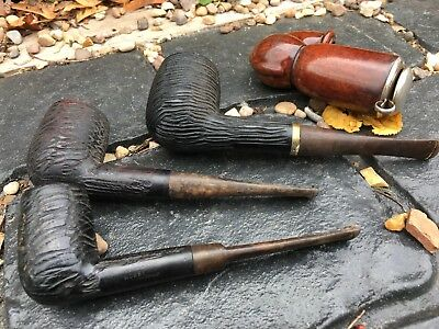 House Clearance Attic Find Vintage Old Classic Smoking Pipes Job Lot Spares