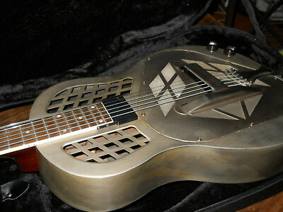 Republic Made in Usa resonator resophonic Dobro Tricone Relic