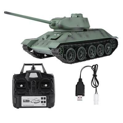 Henglong 3909-1 1:16 T-34 2.4GHz Remote Control Tank High Simulation Model Tank