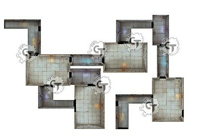 Modular Dungeon Tiles Expansion, Digital Download D&D RPG Dragons Dnd Pathfinder