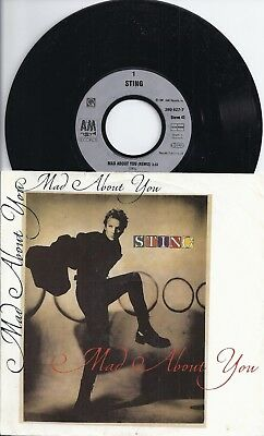 "Sting - Made About You (1991) 7"" Single in mint !!"