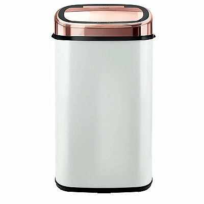 Kitchen Accessories Set Large 58l Tower Rose Gold White Square