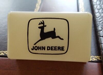 John Deere, 2 Leg White Plastic Night Light