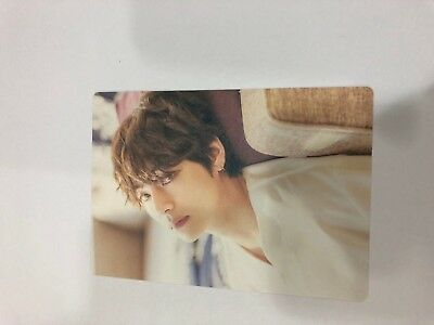 BTS 2018 Exhibition '오,늘' Official Clip Board Photo Card V Kpop