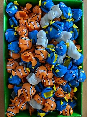PEZ Heads! 144 dispenser heads from Finding Dory Dispensers! PEZ Parts! WOW!