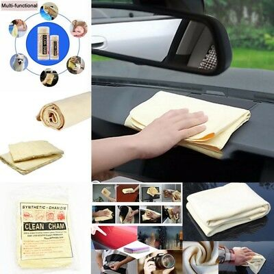 Multi Purpose Synthetic Chamois Leather Washing Cleaning Cloth Towel 64 x 43 cm