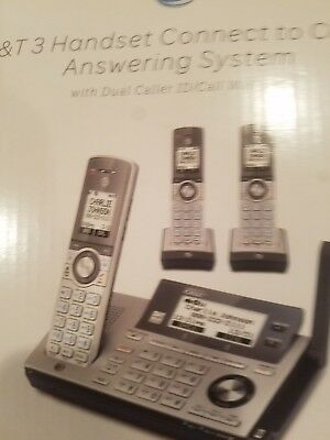 AT&T 3 Handset Connect to Cell Answering System CLP99386