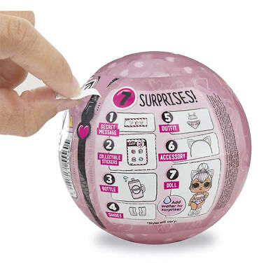 LOL Surprise Doll GLAM GLITTER Series Big Sisters Toys 7 Surprise One Ball