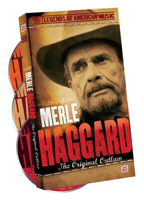 Merle Haggard Legends of American Music: The Original Outlaw 3cd Box set New