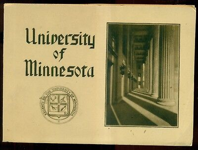1930's University of Minnesota Picture Booklet
