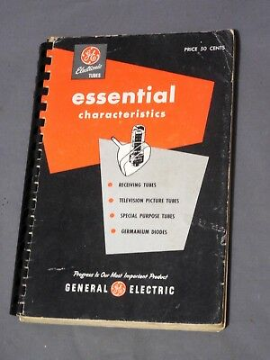 GE Electron Tubes Essential Characteristics