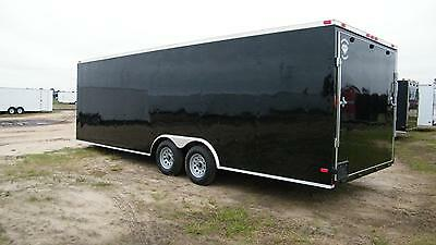 8.5X24 8.5 x 24 Enclosed Trailer Cargo 5200 VNose 26 Car Hauler Motorcycle 2019