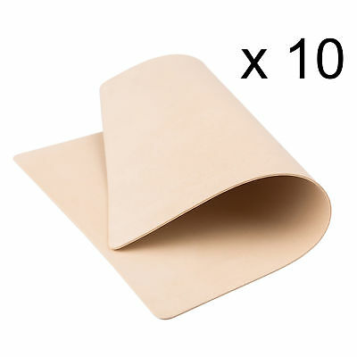 Synthetic Tattoo Practice Fake Skin Blank Artificial Beginners Double Sided 10X