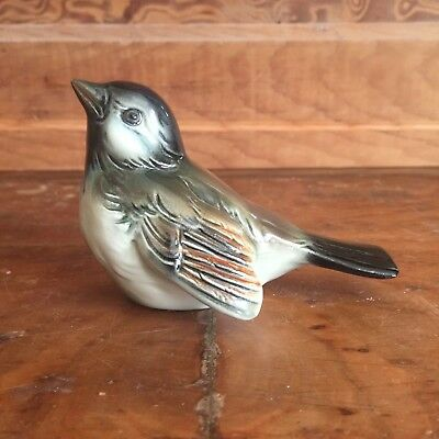 Vintage Goebel Germany Porcelain Bird Figurine