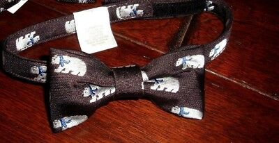 Janie and Jack POLAR BEAR Bow Tie 6 9 12 18 24M 2T 3T Up to 3T Holiday Wedding