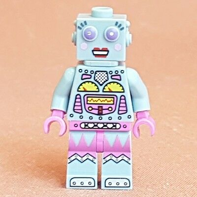 Genuine Lego Mini Figure Lady Robot from series 11