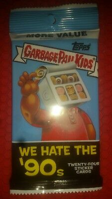 2018 GARBAGE PAIL KIDS OH HORROR-IBLE Fool's Gold Parallel #/50 JUMBO HOT PACK