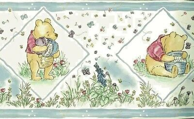 NEW Disney Wallpaper Border CLASSIC WINNIE the POOH Self-Stick Baby / Child Room
