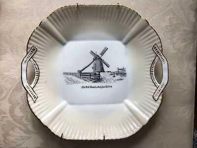 Nantucket Plate With Windmill Marked Germany