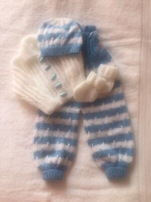 Baby Hand Knitted Set 4 Piece