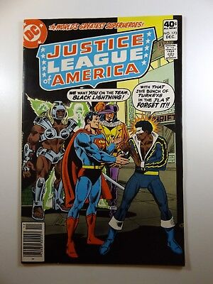 """Justice League of America #173 """"Testing Of A Hero!"""" Sharp VF-NM Condition!!"""