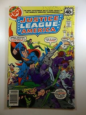 """Justice League of America #165 """"A Mother Of Magic!"""" Beautiful VG+ Condition!!"""