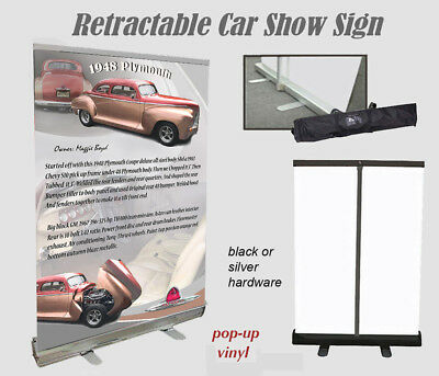 Car Show or Auction Display YOUR CAR